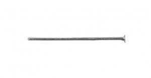 Ehtenael Antiikhõbedane, Antique Silver Flat Head Pin, 20mm, ED36