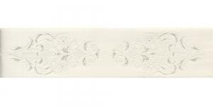 Luksuslik atlaspael sissekootud lillemustriga laiusega 38mm, Art.38969, loodusvalge