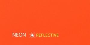 Iseliimuv neoonpaik 10x20cm, oranž, KL0910
