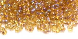 Farfalle, Kudpruunid läbipaistvad AB- kattega, 3,2 x 6,5 mm, HR59