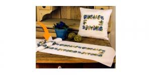 Cross Stitch Cushion Kit (Pillow covers), Duftin 5117