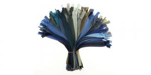 Peitlukud 20cm, pakkumiskomplekt, 50tk, sinised-hallikad, #7