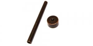 6mm kübaraga neetide paigaldamise abivahendid / DIY tool for 6mm hat diameter rivets / DY-RCR-6