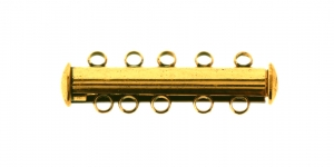 30x6mm Magnetkinnis, antiikkuldne EJ110