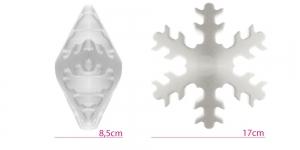 Penoplastist e. stüroksist lumehelves ø17cm, KL1355