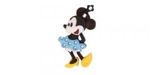 Minnie Hiir täpilise seelikuga, kannaga plastiknööp, 35x21mm/50L, SDD26 JJ_DI-21