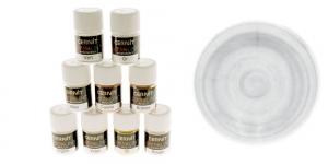 Pärlmutter- ja metallikefektiga pulber Cernit, 5g, Metallic Silver 080