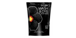 Pesumasinavärv, sisaldab soola, Wash & Dye, 350 g, Värv: must, Velvet Black #01