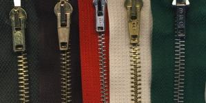 Tõmblukkude komplekt nr.2 Roheline, naturaalvalge,punane,pruun,metsaroheline, 5tk/kmpl, 15cm-16cm