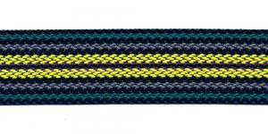 Kotirihma pael laiusega 5 cm Värv - Roheline, kollane, hall, #7