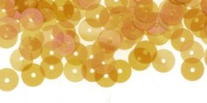 YB126 / Lamedad kettakujulised plastlitrid, läbikumav roosakasbeez / ø6mm