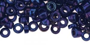 Tumesinistes toonides AB-kattega pärlisegu, 6-7,5mm, LL82