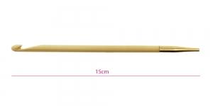 Bambusest tuniisi heegelnõelte vahetatavad otsikud Bamboo, Nr. 6,5mm, KnitPro 22528