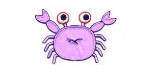 AP66, Helelilla krabi, 8 x 5,5 cm