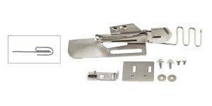 Приспособление для окантовки косой бейкой для плоскошовных машин 3 сложения 28 мм ->10 мм # 620143096