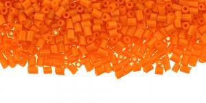 DD16 2,5-2,8mm Oranž läbipaistmatu kuuetahuline toruhelmes