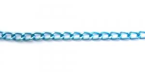 Alumiiniumkett Sinine 18 x 11 x 3 mm, MA89
