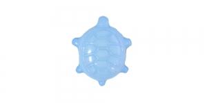 Helesinine, kannaga plastiknööp, 17x15mm/26L, SD113A 222