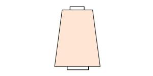 Ohut ompelukone- ja saumurilanka, 100%PES, 5000 m/y, väri, o7005