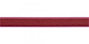 Sametpael laiusega 10mm Art.3276R / Värv Nr.162 Roosakas veinipunane
