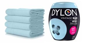 Pesukoneväri, sis suolan, 350 g, väri: vaaleansininen Vintage Blue #06