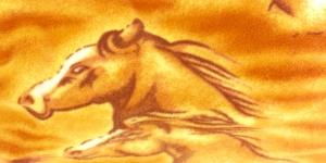 02 Helepruun hobustega fliis