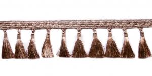 Soliidne kaunistuspael tuttidega, üldlaiusega 12cm, värv hallikasbeež