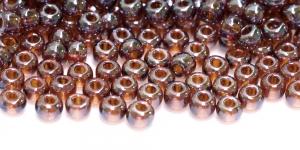 Terahelmed, seemnehelmed,Nr.4 (4.8-5.3 mm), Preciosa Tumepruunid läbipaistvad AB- kattega HD36