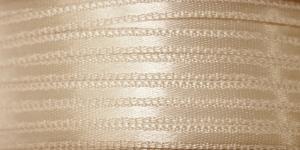 Kahepoolne luksuslik atlaspael laiusega 3,5mm / Art.3368 / Double Sided Satin Ribbon / värv nr.600 Kreemjas helebeež