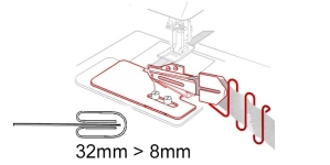 Kanti neljaks keerav kantimishuulik, 32 mm --> 8 mm, KL0730 PRO+