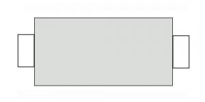 Õmblusniit, 100% PES, 366m, helehall CA7545-CA047