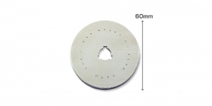 Replacement Rotary Cutter Blade ø60 mm, OLFA, RB60-1