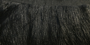 Õrnad narmad pikkusega 25cm Art.4500-10`/55720, värv must