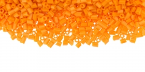 DD10A 2,5mm Oranž läbipaistmatu toruhelmes
