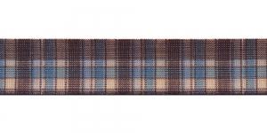 Trükitud mustriga kummipael 30mm / Elastic Band / Värv 412-E Sinise-pruuniruuduline