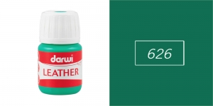 Nahavärvid Darwi Leather, 30ml, GREEN 626