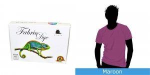 Pesumasinavärv Vielo Fabric Dye, 200 g, Värv: Maroon