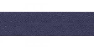 Diagonaalkant, puuvillane, 25mm, mustjashall, värv 529953