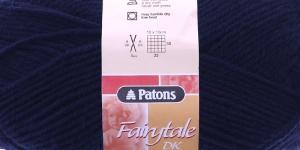 Fairytale DK; Värv 6376 (Tumesinine) / Patons