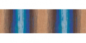 Diva Batik Design Yarn, Alize, Colour 3243