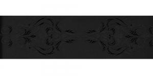 Jacquard koristenauha 64mm, Art.64969, väri: musta