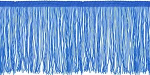 Lihtsad pikad narmad pikkusega 15 cm, värv sinine, 6