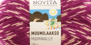 Muumilaakso Sock Yarn, Novita, Colour 891