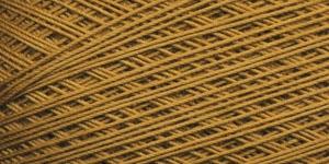 Puuvillane heegelniit Maxi; Värv 6340 (Kuldpruun) / Madame Tricote