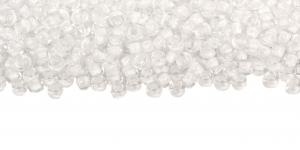 Värvitud, valge sisuga terahelmed, TOHO, suurus: 8/0, värv: 981; 8-C-981