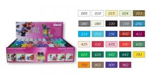 Kartongist müügistend Darwi täidetuna Paint-&-Peel 80ml pudelitega DA0720099K01