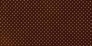 Puuvillane veniv kangas, beežid täpid, tumepruunil taustal 160cm