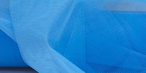 20 Sinine tugev tüllkangas, 180cm