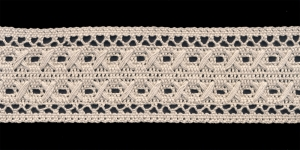 Puuvillane pits K-5011.L0 laiusega 5,5 cm, värv hall
