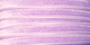 Sametpael laiusega 7,5mm Art.3437R / Velvet Ribbon / Värv Nr. 787 Helelilla